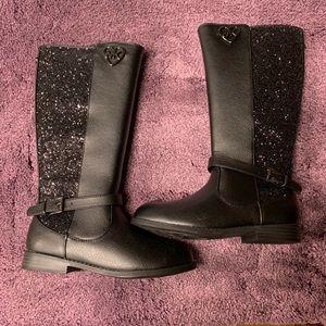 Michael Kira lil kid tall black boots